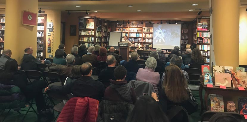SYNC'd presentation at Tattered Cover Book Store
